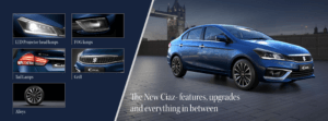 Maruti Suzuki Ciaz facelift 2018 - Images, Features, Specifications 3
