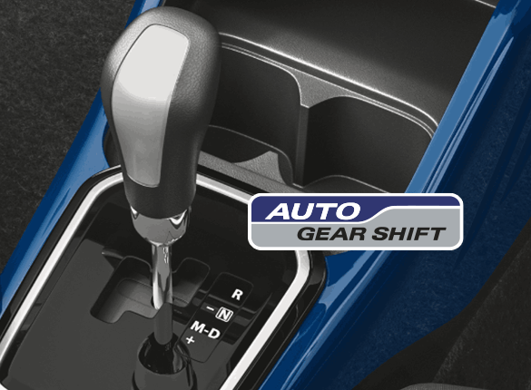 Shift to a different gear