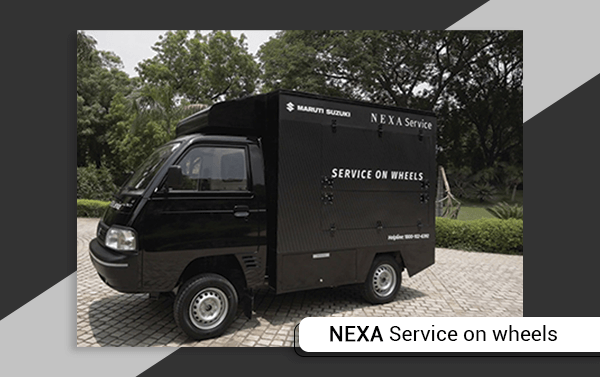 Maruti Suzuki Nexa Service On Wheels