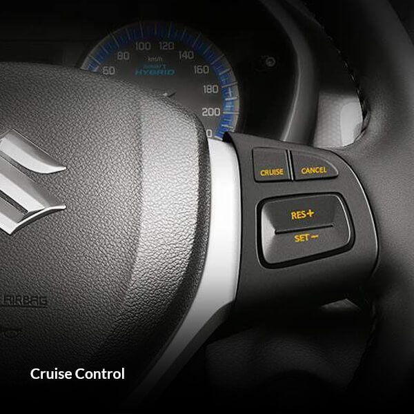 Maruti Suzuki S-Cross Car Interior